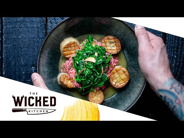 Vegan Mushroom Scallops with Wicked Purple Rice | The Wicked Kitchen | S2 • E14