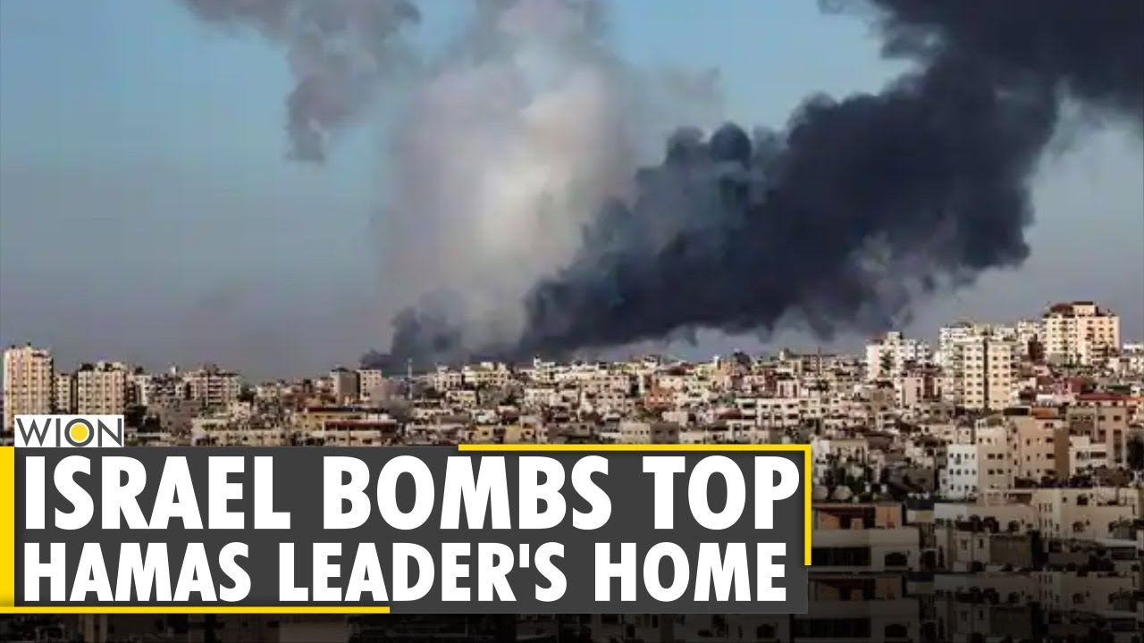 Download The Israel-Palestine Flare-Up: Israel bombs Hamas Gaza Chief's home   Latest English News   WION