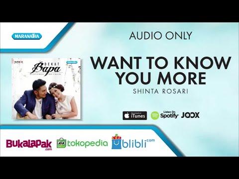 Want To Know You More - Marsya Manopo/Shinta Rosari (Audio)
