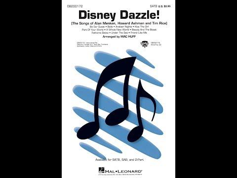 Disney Dazzle! (SATB) - Arranged by Mac Huff