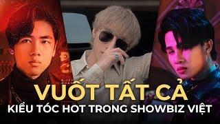 Thử Thách Vuốt Tất Cả Kiểu Tóc Hot Trong Showbiz Việt - Jack (J97), MTP, K-ICM