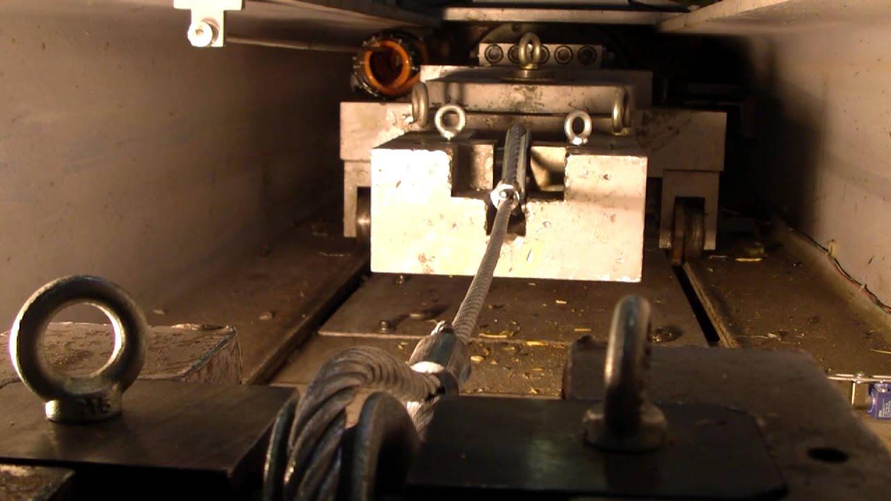 Wire Rope Break Test IBV d.o.o.   Test kvalitete bremenskih vrvi ...
