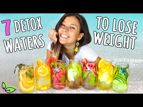 7 DETOX WATERS FOR WEIGHT LOSS!��Yovana