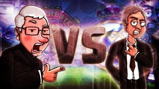 Repeat youtube video Alex Ferguson Vs Mourinho -- Football Rap Battles #5