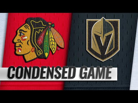 12/06/18 Condensed Game: Blackhawks @ Golden Knights