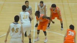 Basketball 東海大 vs.拓殖大(1Q)準決勝 関東大学バスケットボール新人戦 2013.6.15