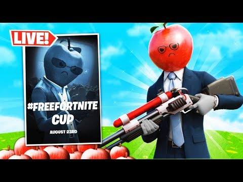 PLAYING #FreeFortnite CUP ON MOBILE! (Winning INSANE Prizes)