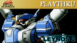 Assault Suit Leynos 2 [Saturn] by NCS (317,369) [HD] [1080p]