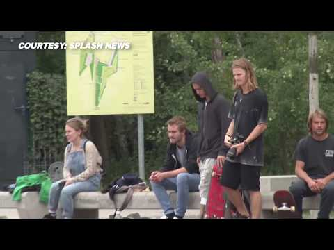 (VIDEO) Justin Bieber PANTS DOWN, Shows off Skateboarding Skills In Berlin, Germany
