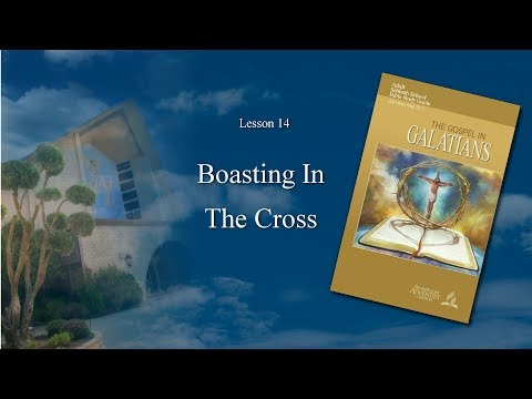 """""""Galatians: Boasting In The Cross"""" (14 of 14) by Central Pastors"""