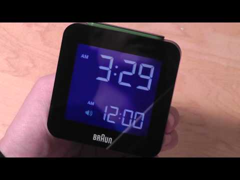REVIEW: Braun Global Radio Controlled Alarm Clock (BNC009)