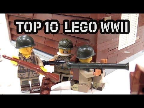 Top 10 Epic LEGO World War II Creations!