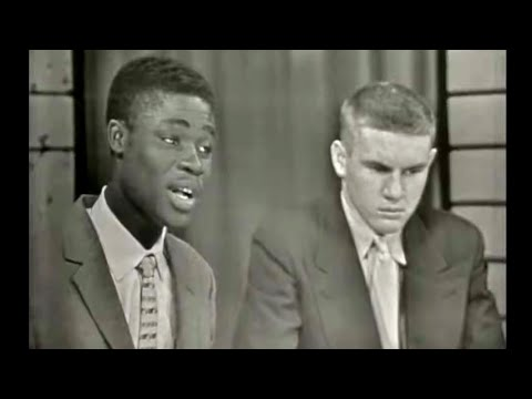 1956 High School Exchange Students Debate on Prejudice (1). Nigeria, Ethiopia, Ghana, South Africa