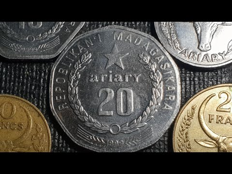 Coins of Madagascar