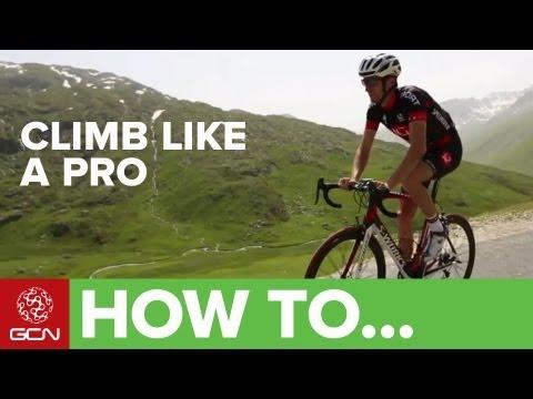 Climb Like a Pro - Tips On Cycling Up Hills
