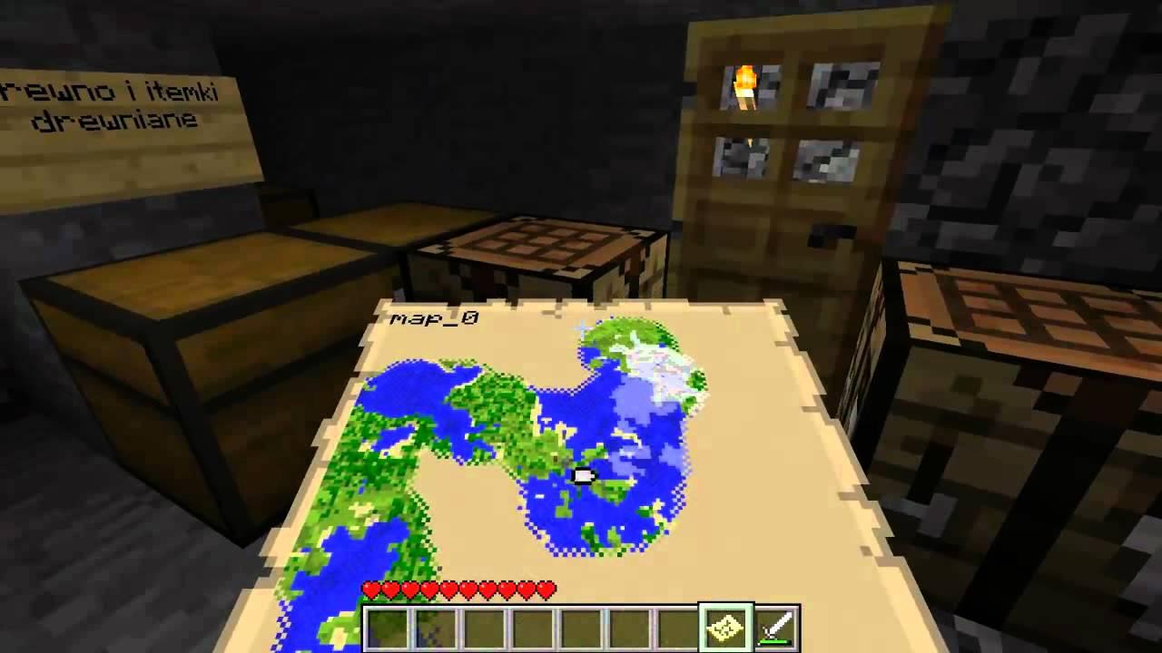Minecraft - jak to jest zrobione . Zegarek , Mapa , Kompas .