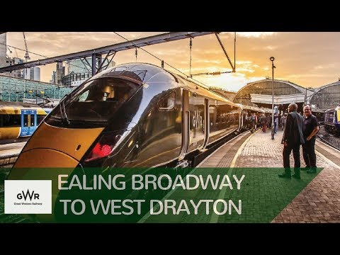 GWR: Ealing Broadway to West Drayton with the snow