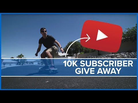 10,000 Subscriber Thank You - GIVEAWAY