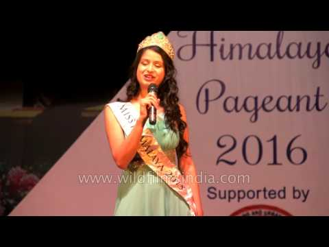 Miss Himalaya Pageant 2015 - Tanshuman Gurung
