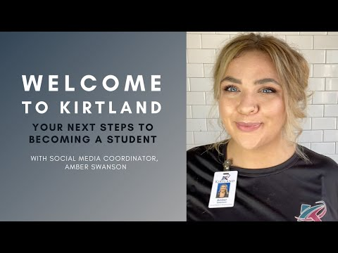 Welcome to Kirtland Community College | Orientation Video