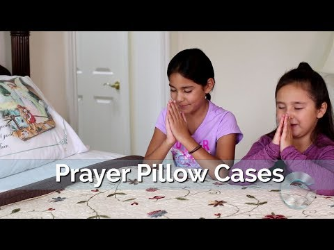 Prayer Pillow Cases - The Perfect Gift HD