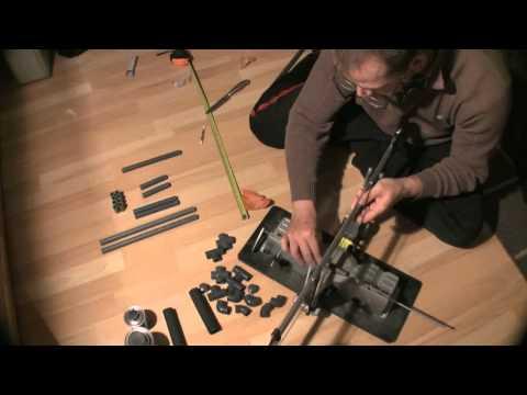 Video DSLR Schulterstativ selber bauen - Camera Rig Shoulder Rig DIY