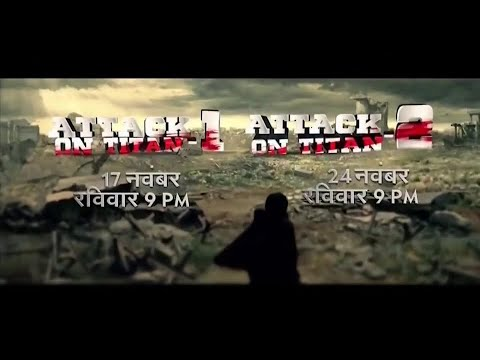 Attack On Titan Part 1 And Part 2 Hindi PROMO - UTV Action | Attack On Titan Live Action In Hindi