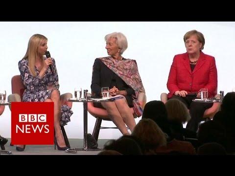 Groans at Ivanka at G20 women