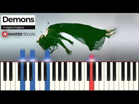💎 Demons - Imagine Dragons  Piano Tutorial 💎