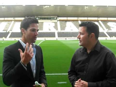 Mini interview with Gethin Jones for John Hartson match