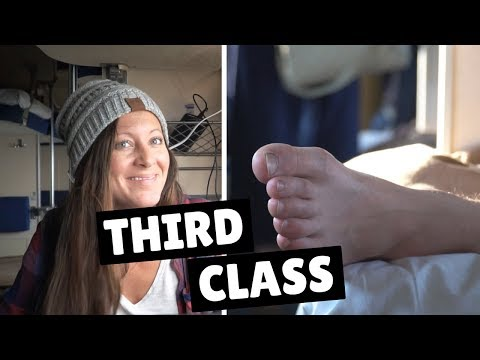 THIRD CLASS TRAIN TOUR | Trans-Siberian Day 6