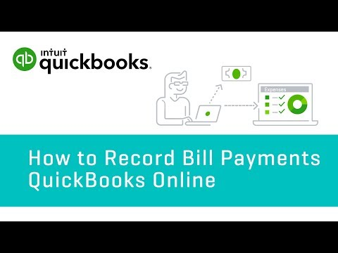 How To Record Bill Payments   QuickBooks Online Tutorial 2018