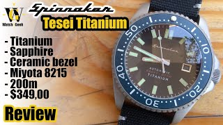 Spinnaker Tesei Titanium - SP5061 Review