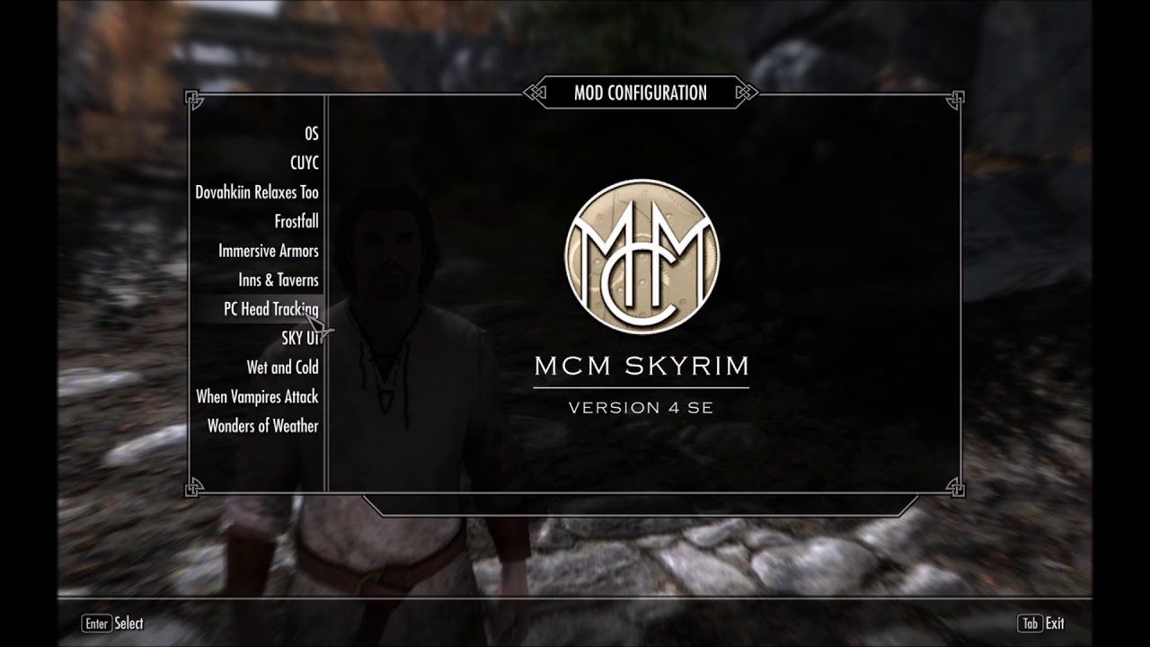 Skyrim Player Headtracking And Voice