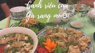 Du lịch Hà Nội- Vợ Việt Chồng Tây ăn tối ở nhà hàng Thủy Tạ // Cuộc Sống Canada