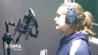 The Ocean by Mike Perry - cover by Elise Looyens - 13 years old