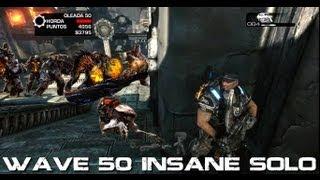 Gow3 - Wave 50 Insane Solo / Oleada 50 Locura Solo (No mutators/Sin mutadores)