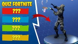 QUIZ FORTNITE DANCE #1