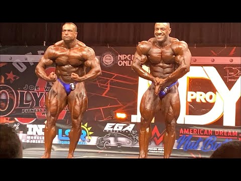 Ron Harris on the 2021 Indy Pro Judging   2021 IFBB Indiana Pro