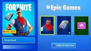 *NEW FREE PRODIGY SKIN & BACKBLING / PIZZA EMOTE (Fortnite Battle Royale)