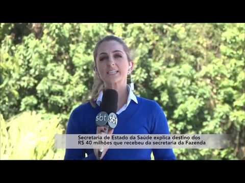Secretaria de Estado da Saúde explica destino de verba que recebeu da Secretaria da Fazenda