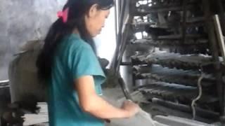 cara membuat genteng semen