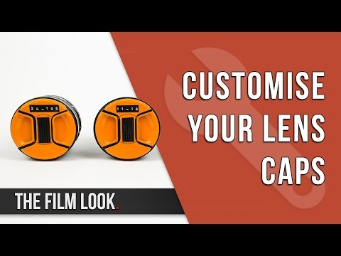 Customise Your Lens Caps | The Film Look