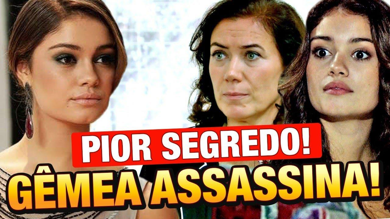 FINA ESTAMPA - irmã gêmea MALVADA de Amália volta! e revela PIOR SEGREDO do passado de Griselda!