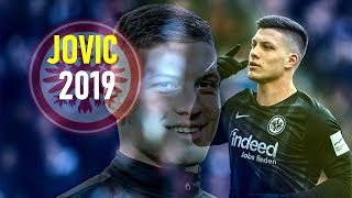 Luka Jovic 2019 - Goalmachine - Insane Goals Power & Skills - Eintracht Frankfurt