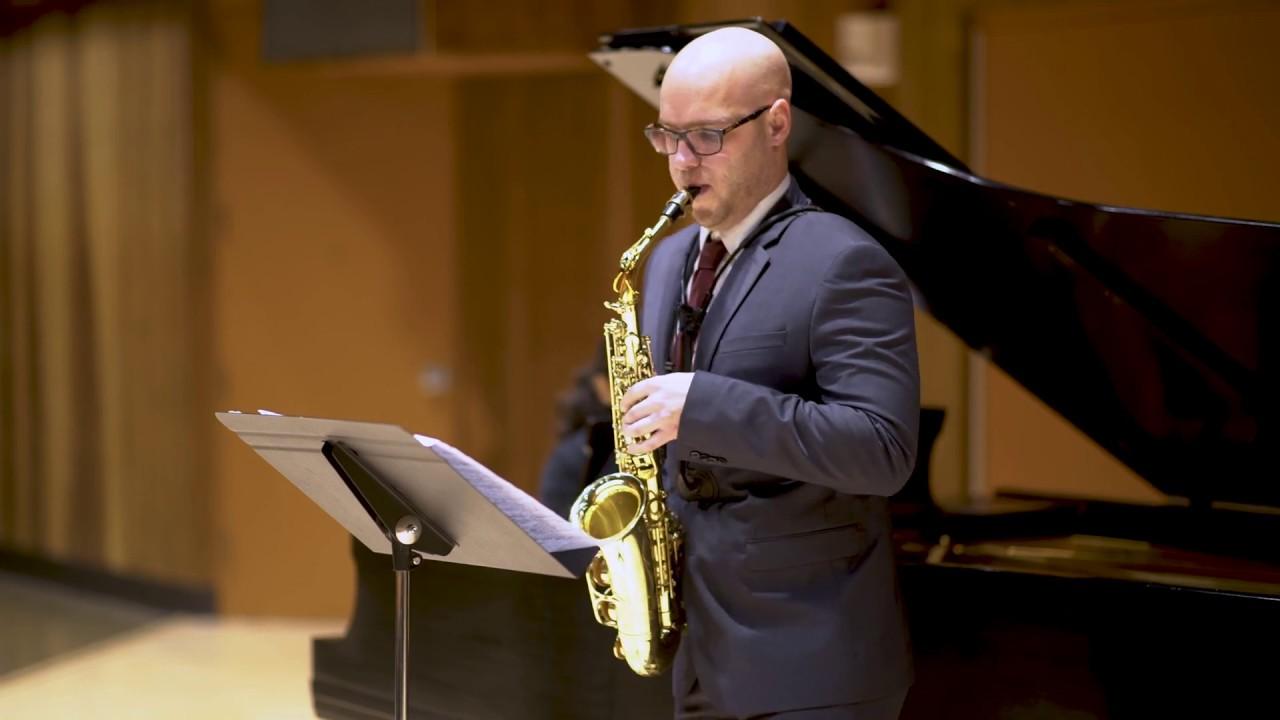 Decruck - Sonata in C# minor, I. Très Modéré, expressif - Nick Zoulek, saxophone