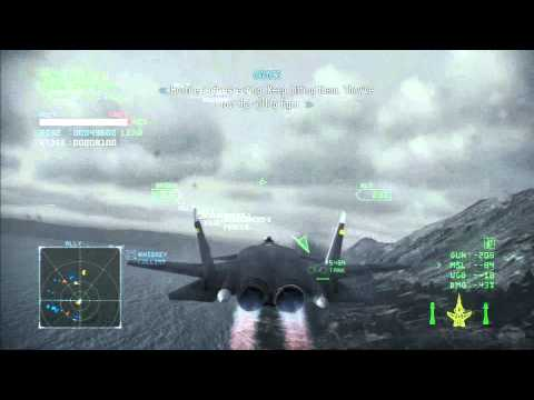 Ace Combat Infinity: Mission 8 + Ending + After Credits 1080p