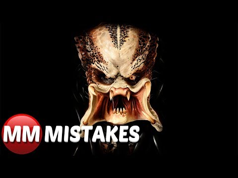 10 Predator Movie Mistakes That Will Amaze You | Predator Movie Goofs