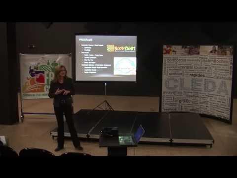 Kathlyn Terry, Keynote Address, Central Louisiana Foodapalooza