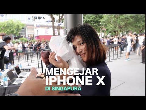 Mengejar iPhone X - Nginap di Depan Apple Store Singapura (Vlog 16) - Kompas Tekno